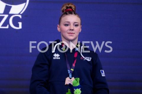 AGENCJA FOTONEWS - 14.04.2019 SZCZECIN8. MISTRZOSTWA EUROPY W GIMNASTYCE SPORTOWEJ KOBIET I MEZCZYZNDZIEN 5 - FINALY NA PRZYRZADACH8th European Championships in Artistic GymnasticsDay 5 - Apparatus FinalsN/Z LORETTE CHARPY (FRA)FOT MATEUSZ SLODKOWSKI / FOTONEWS