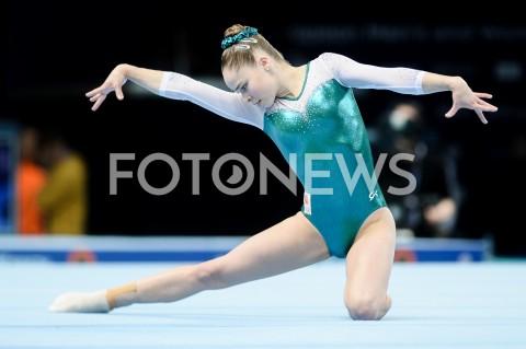 AGENCJA FOTONEWS - 14.04.2019 SZCZECIN8. MISTRZOSTWA EUROPY W GIMNASTYCE SPORTOWEJ KOBIET I MEZCZYZNDZIEN 5 - FINALY NA PRZYRZADACH8th European Championships in Artistic GymnasticsDay 5 - Apparatus FinalsN/Z EYTHORA THORSDOTTIR (NED)FOT MATEUSZ SLODKOWSKI / FOTONEWS