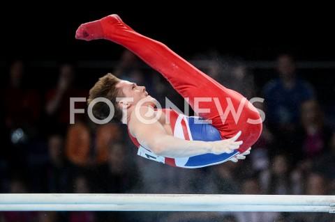AGENCJA FOTONEWS - 14.04.2019 SZCZECIN8. MISTRZOSTWA EUROPY W GIMNASTYCE SPORTOWEJ KOBIET I MEZCZYZNDZIEN 5 - FINALY NA PRZYRZADACH8th European Championships in Artistic GymnasticsDay 5 - Apparatus FinalsN/Z BRINN BEVAN (GBR)FOT MATEUSZ SLODKOWSKI / FOTONEWS