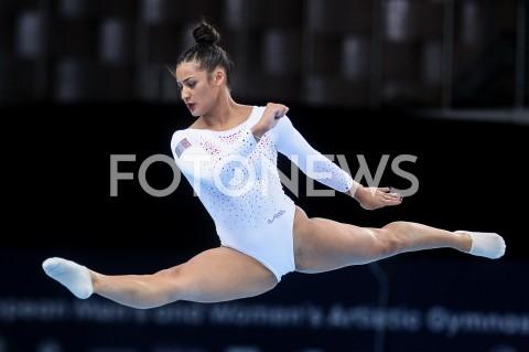 AGENCJA FOTONEWS - 14.04.2019 SZCZECIN8. MISTRZOSTWA EUROPY W GIMNASTYCE SPORTOWEJ KOBIET I MEZCZYZNDZIEN 5 - FINALY NA PRZYRZADACH8th European Championships in Artistic GymnasticsDay 5 - Apparatus FinalsN/Z MARINE BOYER (FRA)FOT MATEUSZ SLODKOWSKI / FOTONEWS