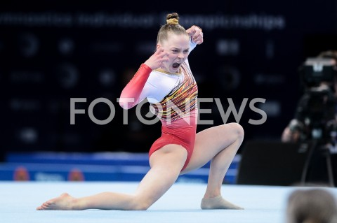 AGENCJA FOTONEWS - 14.04.2019 SZCZECIN8. MISTRZOSTWA EUROPY W GIMNASTYCE SPORTOWEJ KOBIET I MEZCZYZNDZIEN 5 - FINALY NA PRZYRZADACH8th European Championships in Artistic GymnasticsDay 5 - Apparatus FinalsN/Z JADE VANSTEENKISTE (BEL)FOT MATEUSZ SLODKOWSKI / FOTONEWS