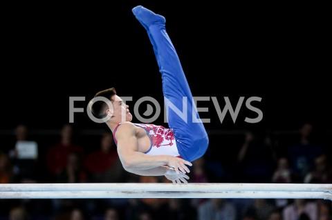 AGENCJA FOTONEWS - 14.04.2019 SZCZECIN8. MISTRZOSTWA EUROPY W GIMNASTYCE SPORTOWEJ KOBIET I MEZCZYZNDZIEN 5 - FINALY NA PRZYRZADACH8th European Championships in Artistic GymnasticsDay 5 - Apparatus FinalsN/Z NIKITA NAGORNYY (RUS)FOT MATEUSZ SLODKOWSKI / FOTONEWS