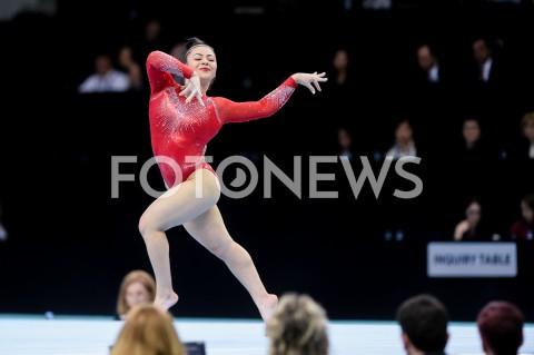 AGENCJA FOTONEWS - 14.04.2019 SZCZECIN8. MISTRZOSTWA EUROPY W GIMNASTYCE SPORTOWEJ KOBIET I MEZCZYZNDZIEN 5 - FINALY NA PRZYRZADACH8th European Championships in Artistic GymnasticsDay 5 - Apparatus FinalsN/Z CLAUDIA FRAGAPANE (GBR)FOT MATEUSZ SLODKOWSKI / FOTONEWS