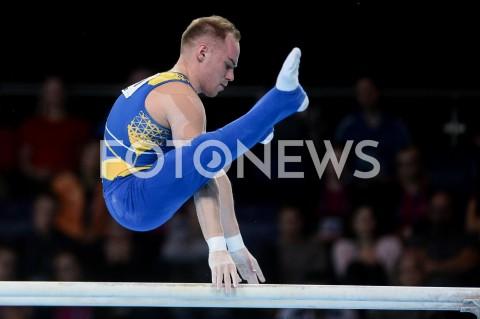 AGENCJA FOTONEWS - 14.04.2019 SZCZECIN8. MISTRZOSTWA EUROPY W GIMNASTYCE SPORTOWEJ KOBIET I MEZCZYZNDZIEN 5 - FINALY NA PRZYRZADACH8th European Championships in Artistic GymnasticsDay 5 - Apparatus FinalsN/Z OLEG VERNIAIEV (UKR)FOT MATEUSZ SLODKOWSKI / FOTONEWS
