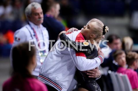 AGENCJA FOTONEWS - 14.04.2019 SZCZECIN8. MISTRZOSTWA EUROPY W GIMNASTYCE SPORTOWEJ KOBIET I MEZCZYZNDZIEN 5 - FINALY NA PRZYRZADACH8th European Championships in Artistic GymnasticsDay 5 - Apparatus FinalsN/Z ANGELINA MELNIKOVA (RUS)FOT MATEUSZ SLODKOWSKI / FOTONEWS