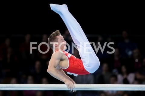 AGENCJA FOTONEWS - 14.04.2019 SZCZECIN8. MISTRZOSTWA EUROPY W GIMNASTYCE SPORTOWEJ KOBIET I MEZCZYZNDZIEN 5 - FINALY NA PRZYRZADACH8th European Championships in Artistic GymnasticsDay 5 - Apparatus FinalsN/Z CHRISTIAN BAUMANN (SUI)FOT MATEUSZ SLODKOWSKI / FOTONEWS