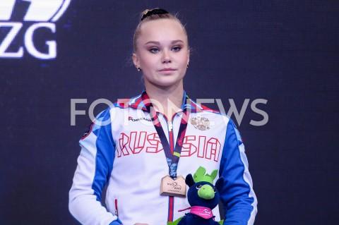 AGENCJA FOTONEWS - 14.04.2019 SZCZECIN8. MISTRZOSTWA EUROPY W GIMNASTYCE SPORTOWEJ KOBIET I MEZCZYZNDZIEN 5 - FINALY NA PRZYRZADACH8th European Championships in Artistic GymnasticsDay 5 - Apparatus FinalsN/Z ANGELINA MELNIKOVA (RUS)-FOT MATEUSZ SLODKOWSKI / FOTONEWS