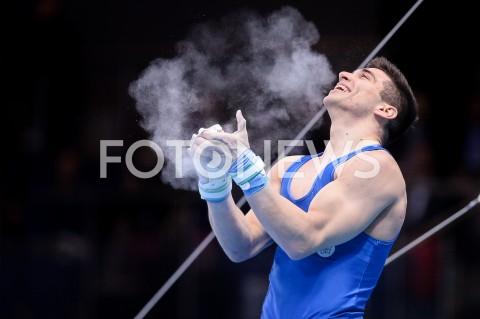 AGENCJA FOTONEWS - 14.04.2019 SZCZECIN8. MISTRZOSTWA EUROPY W GIMNASTYCE SPORTOWEJ KOBIET I MEZCZYZNDZIEN 5 - FINALY NA PRZYRZADACH8th European Championships in Artistic GymnasticsDay 5 - Apparatus FinalsN/Z CARLO MACCHINI (ITA)FOT MATEUSZ SLODKOWSKI / FOTONEWS