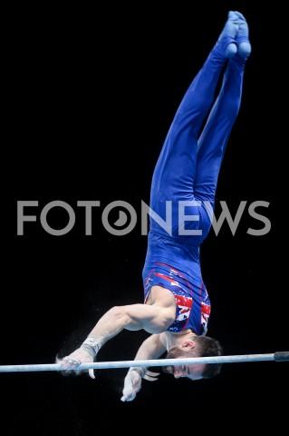 AGENCJA FOTONEWS - 14.04.2019 SZCZECIN8. MISTRZOSTWA EUROPY W GIMNASTYCE SPORTOWEJ KOBIET I MEZCZYZNDZIEN 5 - FINALY NA PRZYRZADACH8th European Championships in Artistic GymnasticsDay 5 - Apparatus FinalsN/Z JAMES HALL (GBR)FOT MATEUSZ SLODKOWSKI / FOTONEWS