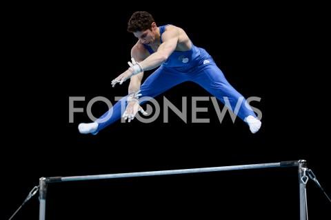 AGENCJA FOTONEWS - 14.04.2019 SZCZECIN8. MISTRZOSTWA EUROPY W GIMNASTYCE SPORTOWEJ KOBIET I MEZCZYZNDZIEN 5 - FINALY NA PRZYRZADACH8th European Championships in Artistic GymnasticsDay 5 - Apparatus FinalsN/Z LUDOVICO EDALLI (ITA)FOT MATEUSZ SLODKOWSKI / FOTONEWS