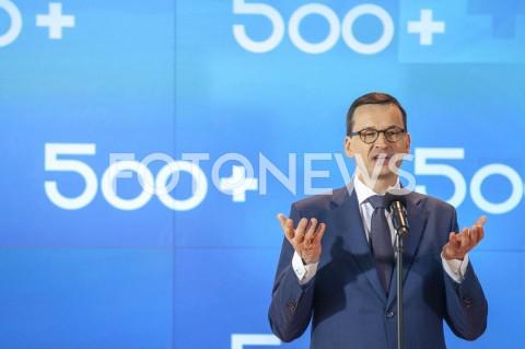Konferencja dotycząca Programu Rodzina 500+ w Warszawie