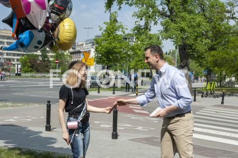 AGENCJA FOTONEWS - 01.05.2019 WARSZAWAAKTYWNOSC WYBORCZA PSLN/Z WLADYSLAW KOSINIAK KAMYSZFOT GRZEGORZ KRZYZEWSKI / FOTONEWS