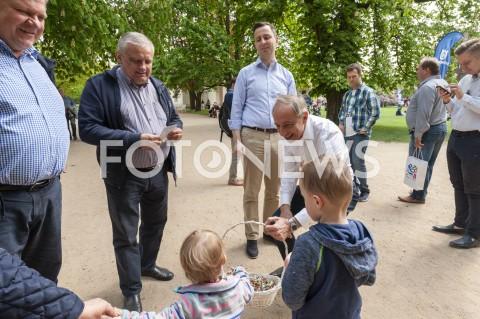 AGENCJA FOTONEWS - 01.05.2019 WARSZAWAAKTYWNOSC WYBORCZA PSLN/Z WLADYSLAW KOSINIAK KAMYSZ WLADYSLAW TEOFIL BARTOSZEWSKI JAKUB STEFANIAKFOT GRZEGORZ KRZYZEWSKI / FOTONEWS