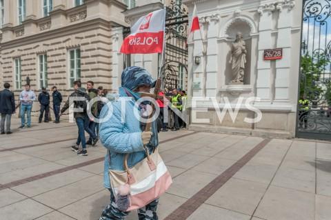 AGENCJA FOTONEWS - 03.05.2019 WARSZAWA OBCHODY SWIETA NARODOWEGO 3 MAJA N/Z UCZESTNICYFOT MAREK KONRAD / FOTONEWS
