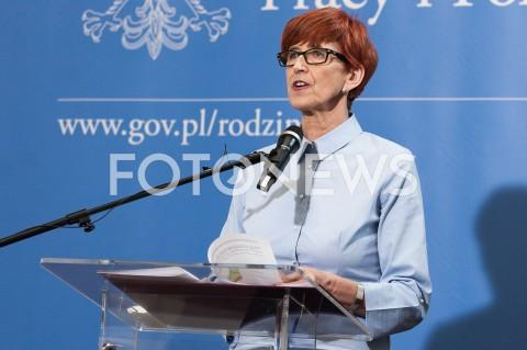 AGENCJA FOTONEWS - 09.05.2019 WARSZAWA MINISTERSTWO PRACY RODZINY I POLITYKI SPOLECZNEJBRIEFING PRASOWY PROGRAMU DOBRY START I SYTUACJI NA RYNKU PRACY N/Z ELZBIETA RAFALSKAFOT MAREK KONRAD / FOTONEWS