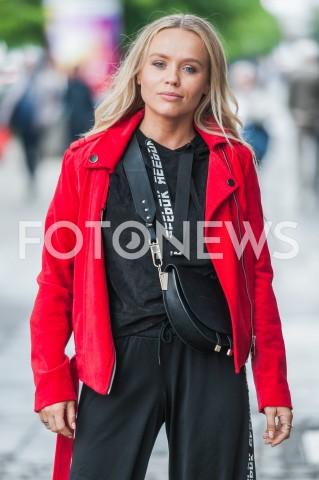 AGENCJA FOTONEWS - 10.05.2019 WARSZAWAGOSCIE PRZED STUDIEM DZIEN DOBRY TVNN/Z ANNA SKURAFOT MAREK KONRAD / FOTONEWS