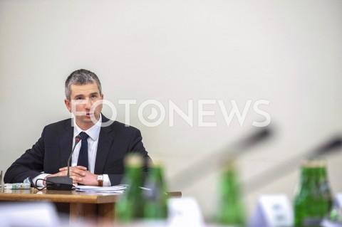 Mateusz Szczurek przed komisją ds. VAT w Warszawie