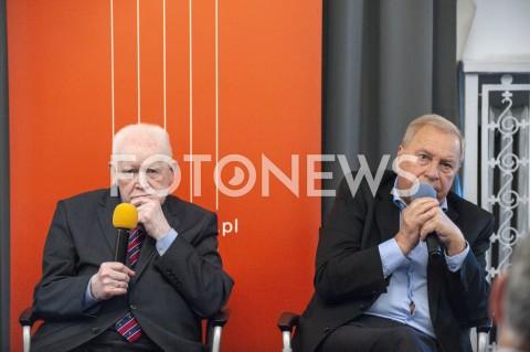Debata z udziałem Jerzego Stuhra i Adama Strzembosza w Warszawie