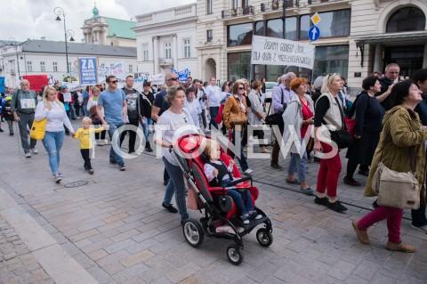 AGENCJA FOTONEWS - 23.05.2019 WARSZAWAPROTEST OSOB NIEPELNOSPRAWNYCH I ICH OPIEKUNOWN/Z UCZESTNICYFOT MAREK KONRAD / FOTONEWS