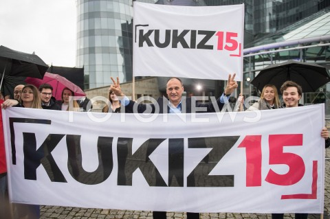 AGENCJA FOTONEWS - 23.05.2019 WARSZAWADEBATA EUROPEJSKA W TVPN/Z PAWEL KUKIZFOT MAREK KONRAD / FOTONEWS