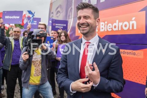 AGENCJA FOTONEWS - 23.05.2019 WARSZAWADEBATA EUROPEJSKA W TVPN/Z KRZYSZTOF SMISZEKFOT MAREK KONRAD / FOTONEWS