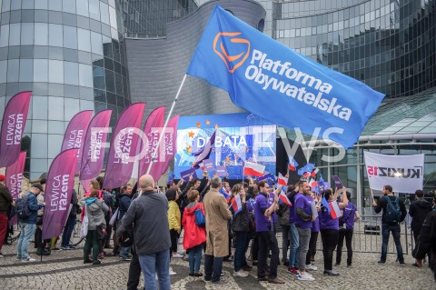 AGENCJA FOTONEWS - 23.05.2019 WARSZAWADEBATA EUROPEJSKA W TVPN/Z WSPIERAJACY POFOT MAREK KONRAD / FOTONEWS