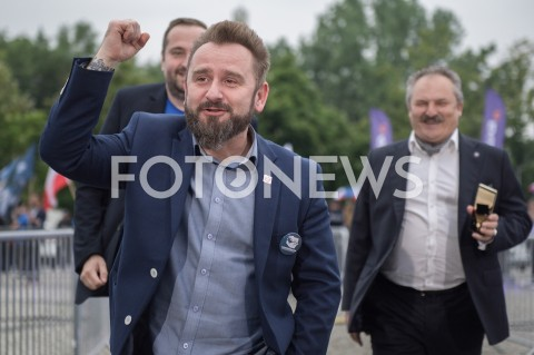AGENCJA FOTONEWS - 23.05.2019 WARSZAWADEBATA EUROPEJSKA W TVPN/Z PIOTR MARZEC LIROY MAREK JAKUBIAKFOT MAREK KONRAD / FOTONEWS