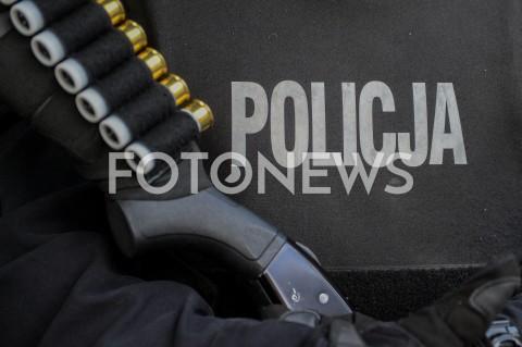 AGENCJA FOTONEWS - 25.05.2019 GDANSK5. TROJMIEJSKI MARSZ ROWNOSCI W GDANSKUN/Z POLICJA POLICJANT NABOJE BRON STRZELBA ILUSTRACJAFOT MATEUSZ SLODKOWSKI / FOTONEWS
