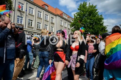 AGENCJA FOTONEWS - 25.05.2019 GDANSK5. TROJMIEJSKI MARSZ ROWNOSCI W GDANSKUN/Z UCZESTNICY MARSZUFOT MATEUSZ SLODKOWSKI / FOTONEWS