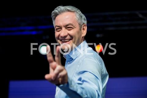 AGENCJA FOTONEWS - 26.05.2019 WARSZAWAWIECZOR WYBORCZY WIOSNYN/Z ROBERT BIEDRONFOT MAREK KONRAD / FOTONEWS