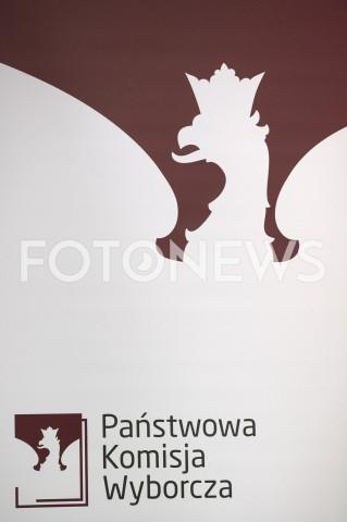 AGENCJA FOTONEWS - 27.05.2019 WARSZAWAKONFERENCJA PANSTWOWEJ KOMISJI WYBORCZEJN/Z PANSTWOWA KOMISJA WYBORCZAFOT GRZEGORZ KRZYZEWSKI / FOTONEWS