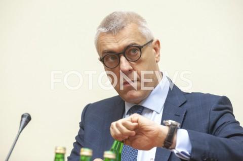 AGENCJA FOTONEWS - 29.05.2019 WARSZAWA SEJMPOSIEDZENIE KOMISJI SLEDCZEJ DS VATN/Z ROMAN GIERTYCHFOT GRZEGORZ KRZYZEWSKI / FOTONEWS