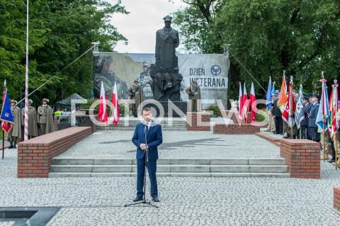 AGENCJA FOTONEWS - 02.06.2019 RZESZOWCENTRALNE OBCHODY DNIA WETERANA Z UDZIALEM MINISTRA OBRONY NARODOWEJ N/Z MARIUSZ BLASZCZAK POMNIK GENERALA WLADYSLAWA SIKORSKIEGO FOT MACIEJ GOCLON / FOTONEWS