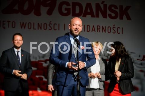 AGENCJA FOTONEWS - 04.06.2019 GDANSKSWIETO WOLNOSCI I SOLIDARNOSCI W GDANSKUN/Z JACEK SUTRYKFOT MATEUSZ SLODKOWSKI / FOTONEWS
