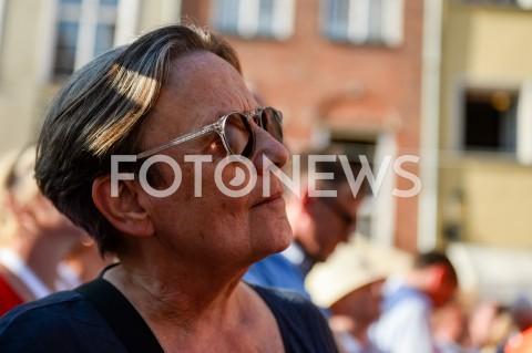AGENCJA FOTONEWS - 04.06.2019 GDANSKSWIETO WOLNOSCI I SOLIDARNOSCI W GDANSKUN/Z AGNIESZKA HOLLANDFOT MATEUSZ SLODKOWSKI / FOTONEWS