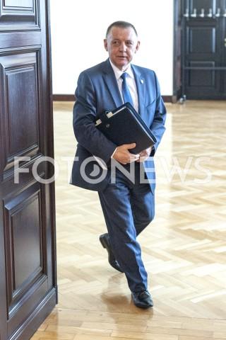 AGENCJA FOTONEWS - 06.06.2019 WARSZAWAPOSIEDZENIE RADY MINISTROWPOSIEDZENIE RZADUN/Z MARIAN BANAS MINISTER FINANSOWFOT GRZEGORZ KRZYZEWSKI / FOTONEWS