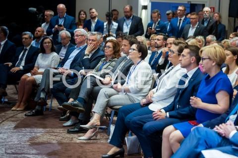 AGENCJA FOTONEWS - 08.06.2019 WARSZAWARADA KRAJOWA PLATFORMY OBYWATELSKIEJ I NOWOCZESNEJN/Z POLITYCY PO TOMASZ SIEMONIAK MALGORZATA KIDAWA BLONSKA RAFAL TRZASKOWSKI EWA KOPACZ KATARZYNA LUBNAUERFOT MAREK KONRAD / FOTONEWS