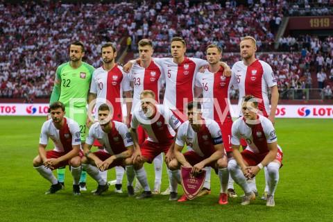 AGENCJA FOTONEWS - 10.06.2019 - WARSZAWAPILKA NOZNA - KWALIFIKACJE UEFA EURO 2020FOOTBALL UEFA EURO 2020 QUALIFIERSMECZ POLSKA (POLAND) - IZRAEL (ISRAEL)N/Z REPREZENTACJA POLSKI ZDJECIE GRUPOWEFOT MATEUSZ SLODKOWSKI / FOTONEWS