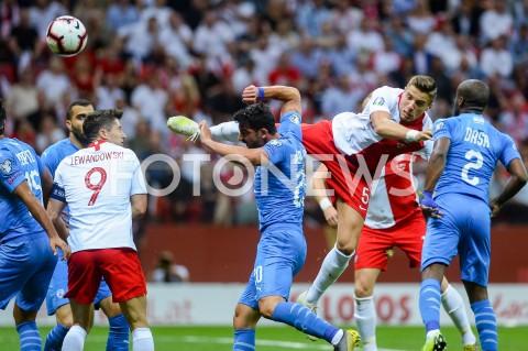 AGENCJA FOTONEWS - 10.06.2019 - WARSZAWAPILKA NOZNA - KWALIFIKACJE UEFA EURO 2020FOOTBALL UEFA EURO 2020 QUALIFIERSMECZ POLSKA (POLAND) - IZRAEL (ISRAEL)N/Z ROBERT LEWANDOWSKI JAN BEDNAREKFOT MATEUSZ SLODKOWSKI / FOTONEWS
