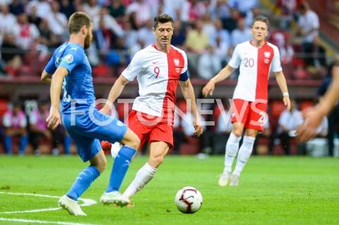 AGENCJA FOTONEWS - 10.06.2019 - WARSZAWAPILKA NOZNA - KWALIFIKACJE UEFA EURO 2020FOOTBALL UEFA EURO 2020 QUALIFIERSMECZ POLSKA (POLAND) - IZRAEL (ISRAEL)N/Z ROBERT LEWANDOWSKIFOT MATEUSZ SLODKOWSKI / FOTONEWS