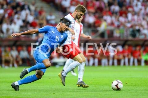 AGENCJA FOTONEWS - 10.06.2019 - WARSZAWAPILKA NOZNA - KWALIFIKACJE UEFA EURO 2020FOOTBALL UEFA EURO 2020 QUALIFIERSMECZ POLSKA (POLAND) - IZRAEL (ISRAEL)N/Z DOR PERETZ MATEUSZ KLICHFOT MATEUSZ SLODKOWSKI / FOTONEWS