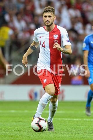 AGENCJA FOTONEWS - 10.06.2019 - WARSZAWAPILKA NOZNA - KWALIFIKACJE UEFA EURO 2020FOOTBALL UEFA EURO 2020 QUALIFIERSMECZ POLSKA (POLAND) - IZRAEL (ISRAEL)N/Z MATEUSZ KLICH SYLWETKAFOT MATEUSZ SLODKOWSKI / FOTONEWS