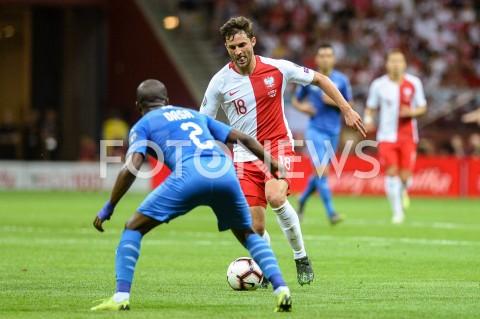 AGENCJA FOTONEWS - 10.06.2019 - WARSZAWAPILKA NOZNA - KWALIFIKACJE UEFA EURO 2020FOOTBALL UEFA EURO 2020 QUALIFIERSMECZ POLSKA (POLAND) - IZRAEL (ISRAEL)N/Z BARTOSZ BERESZYNSKIFOT MATEUSZ SLODKOWSKI / FOTONEWS