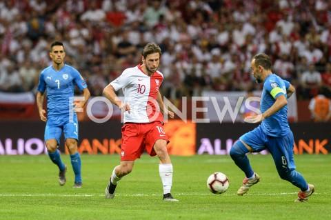 AGENCJA FOTONEWS - 10.06.2019 - WARSZAWAPILKA NOZNA - KWALIFIKACJE UEFA EURO 2020FOOTBALL UEFA EURO 2020 QUALIFIERSMECZ POLSKA (POLAND) - IZRAEL (ISRAEL)N/Z GRZEGORZ KRYCHOWIAKFOT MATEUSZ SLODKOWSKI / FOTONEWS