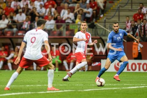 AGENCJA FOTONEWS - 10.06.2019 - WARSZAWAPILKA NOZNA - KWALIFIKACJE UEFA EURO 2020FOOTBALL UEFA EURO 2020 QUALIFIERSMECZ POLSKA (POLAND) - IZRAEL (ISRAEL)N/Z ARKADIUSZ MILIKFOT MATEUSZ SLODKOWSKI / FOTONEWS