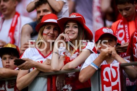 AGENCJA FOTONEWS - 10.06.2019 - WARSZAWAPILKA NOZNA - KWALIFIKACJE UEFA EURO 2020FOOTBALL UEFA EURO 2020 QUALIFIERSMECZ POLSKA (POLAND) - IZRAEL (ISRAEL)N/Z KIBICE TRYBUNYFOT MATEUSZ SLODKOWSKI / FOTONEWS