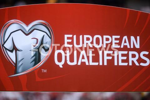 AGENCJA FOTONEWS - 10.06.2019 - WARSZAWAPILKA NOZNA - KWALIFIKACJE UEFA EURO 2020FOOTBALL UEFA EURO 2020 QUALIFIERSMECZ POLSKA (POLAND) - IZRAEL (ISRAEL)N/Z LOGO EUROPEAN QUALIFIERSFOT MATEUSZ SLODKOWSKI / FOTONEWS
