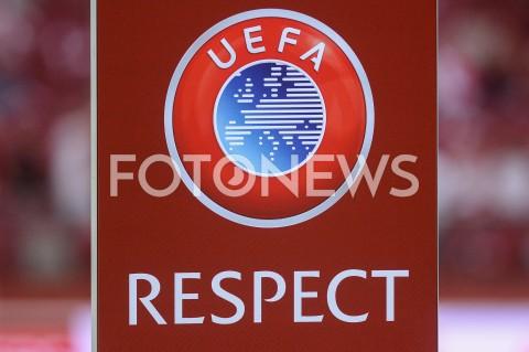 AGENCJA FOTONEWS - 10.06.2019 - WARSZAWAPILKA NOZNA - KWALIFIKACJE UEFA EURO 2020FOOTBALL UEFA EURO 2020 QUALIFIERSMECZ POLSKA (POLAND) - IZRAEL (ISRAEL)N/Z LOGO UEFA RESPECTFOT MATEUSZ SLODKOWSKI / FOTONEWS