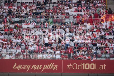 AGENCJA FOTONEWS - 10.06.2019 - WARSZAWAPILKA NOZNA - KWALIFIKACJE UEFA EURO 2020FOOTBALL UEFA EURO 2020 QUALIFIERSMECZ POLSKA (POLAND) - IZRAEL (ISRAEL)N/Z LOGO LACZY NAS PILKA KIBICE TRYBUNYFOT MATEUSZ SLODKOWSKI / FOTONEWS