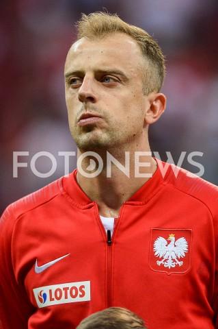 AGENCJA FOTONEWS - 10.06.2019 - WARSZAWAPILKA NOZNA - KWALIFIKACJE UEFA EURO 2020FOOTBALL UEFA EURO 2020 QUALIFIERSMECZ POLSKA (POLAND) - IZRAEL (ISRAEL)N/Z KAMIL GROSICKIFOT MATEUSZ SLODKOWSKI / FOTONEWS